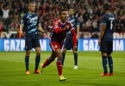 """""""Bayern"""" ČL ketvirtfinalyje sutriuškino """"Porto"""", o """"Barca"""" ramiai sutvarkė reikalus prieš PSG (FOTO, VIDEO)"""