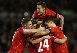 """""""Liverpool"""" nugalėjo """"Newcastle"""" ir priartėjo prie ketvirtos """"Premier"""" lygos vietos (VIDEO)"""