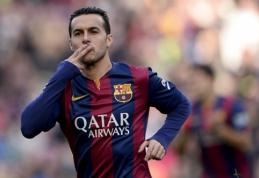 """Spauda: R.Sterlingą """"Liverpool"""" gretose gali pakeisti Pedro"""