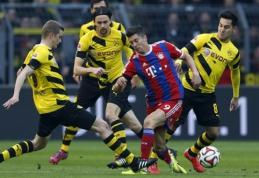 """Vokietijos grandų akistatoje - minimali """"Bayern"""" pergalė (VIDEO)"""