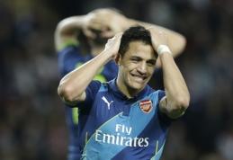 """A. Wengeras: esu pamalonintas, kad Sanchezas pasirinko """"Arsenal"""", o ne """"Liverpool"""""""