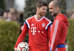 """X. Alonso: Guardiola – viena priežasčių, kodėl pasirinkau """"Bayern"""""""