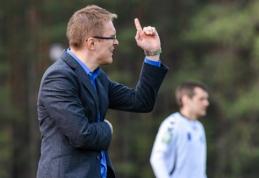 V.Dambrauskas dėl varžovo LFF taurės finale nesijaudina