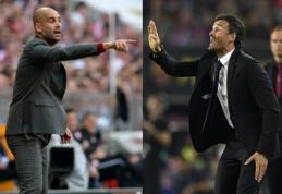 Čempionų lygos pusfinalio apžvalga: L.Enrique ar P.Guardiola? (VIDEO, FOTO)