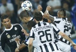"""Pirmajame Čempionų lygos pusfinalio mače - """"Juventus"""" pergalė prieš """"Real"""" (VIDEO)"""