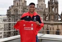 """""""Liverpool"""" papildęs J.Gomezas: tai - svajonės išsipildymas"""