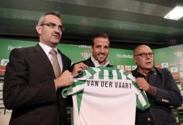 "Į ""Real Betis"" persikėlęs R. van der Vaartas: norime laimėti ""La Liga"""