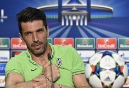 G.Buffonas Berlyne laukia pirmosios akistatos su L.Messi (interviu)