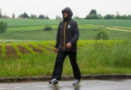 """Iš Turino į Berlyną pėsčiomis. """"Juventus"""" sirgalius sukorė 1099 kilometrus"""