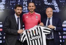 """Oficialu: L.Bonucci susiejo savo ateitį su """"Juventus"""""""