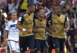 """Draugiškose rungtynėse - """"Arsenal"""" ekipos įvarčių šou (VIDEO)"""