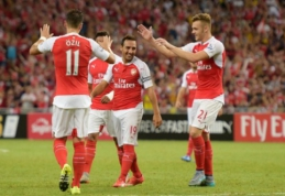 """""""Arsenal"""" iškovojo pirmąjį sezono trofėjų (VIDEO)"""