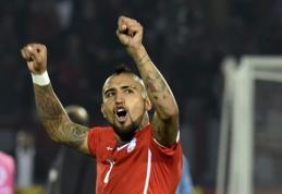 """""""Bayern"""" pasiūlymo sulaukęs """"Juventus"""" prašo 45 mln. eurų už A.Vidalį"""