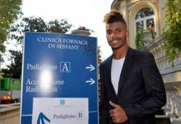 """""""Juventus"""" patvirtino, kad klubą netrukus papildys M. Lemina"""