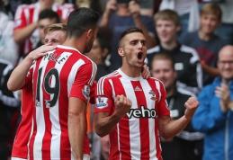 """""""Man Utd"""" pralaimėjo """"Swansea"""", """"Southampton"""" šventė pergalę (VIDEO)"""