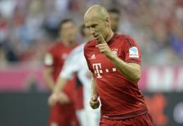 """Vokietijoje - nesunki """"Bayern"""" pergalė prieš Lėverkuzeno ekipą (VIDEO)"""