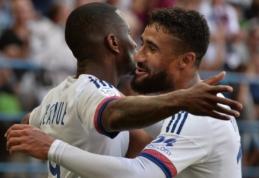 """N. Fekiro hat-trickas atvedė """"Lyon"""" į pergalę svečiuose (VIDEO, visi rezultatai)"""
