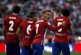 """""""Atletico"""" sezoną Ispanijoje pradėjo pergale prieš """"Las Palmas"""" (VIDEO)"""