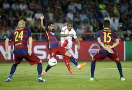 """Neįtikėtinose rungtynėse Pedro įvartis padovanojo """"Barcelona"""" klubui UEFA Supertaurę (VIDEO)"""