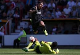 """""""Liverpool"""" naujokas R.Firmino draugiškose rungtynėse pelnė """"hat-tricką"""" (VIDEO)"""