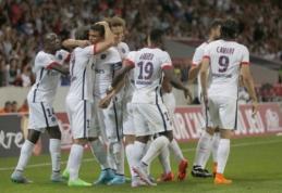 """PSG naują sezoną pradėjo dešimtyje nukaudamas """"Lille"""""""