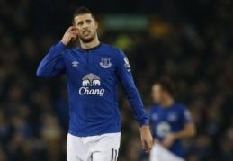 """K. Mirallasas pratęsė sutartį su """"Everton"""""""