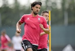 """S.Khedira dėl traumos """"Juventus"""" ekipai nepadės du mėnesius"""