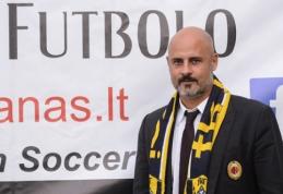 """""""TFA Milan"""" techninis direktorius: """"Širdis jaučia, kad šis projektas taps rimta jėga Europoje"""""""