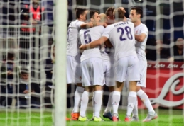 """""""Lazio"""" dešimtyje palaužė """"Hellas"""", o """"Inter"""" namuose neatsilaikė prieš """"Fiorentina"""" (VIDEO)"""