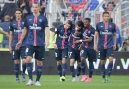 """PSG sutriuškino """"Nantes"""", o """"Lyon"""" netikėtai nusileido """"Bordeaux"""""""