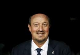 """R.Benitezas: """"Nežinau kiek, bet C.Ronaldo šį sezoną pelnys daug įvarčių"""""""
