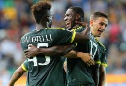 """""""Milan"""" vos neiššvaistė trijų įvarčių persvaros prieš """"Udinese"""""""