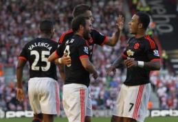 """""""Man Utd"""" ir """"Tottenham"""" šventė pergales, """"Liverpool"""" prarado taškus (VIDEO)"""