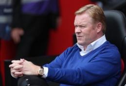 R. Koemanas: esame pasirengę sustabdyti tiek Rooney, tiek Fellaini