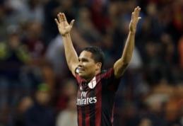 """C. Bacca: """"Milan"""" yra teisingame kelyje"""