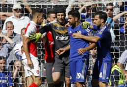 """Londono derbis baigėsi šlykščiais D.Costos veiksmais ir """"Chelsea"""" pergale, """"Man City"""" patyrė pirmąją nesėkmę (VIDEO)"""
