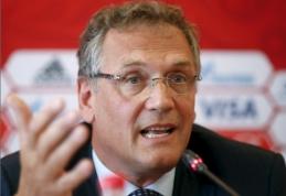 Suspenduotas aukštas FIFA pareigūnas