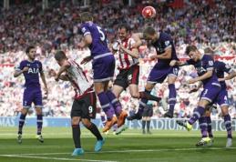 """""""Tottenham"""" iškovojo pirmąją pergalę, """"Leicester City"""" - antroje vietoje (VIDEO)"""