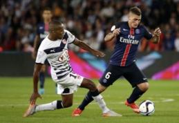 PSG prarado pirmuosius taškus Prancūzijos čempionate (FOTO)