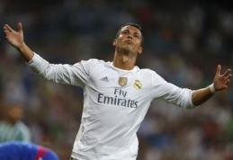 """Spauda: """"Real"""" vasarą atmetė 100 mln. eurų pasiūlymą už C.Ronaldo"""