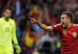 Anglija užsitikrino patekimą į Europos čempionatą, Ispanija įveikė Slovakiją (visi rezultatai, VIDEO)