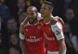 """T. Walcottas: """"Arsenal"""" gali įveikti """"Bayern"""""""
