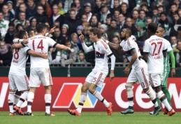 """Dar vieną pergalę Vokietijoje iškovojo """"Bayern"""" ekipa (VIDEO)"""
