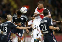 """""""Monaco"""" ir """"Lyon"""" mače užfiksuotos lygiosios"""
