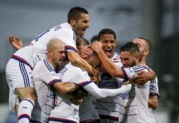 """Ligue 1: """"Lyon"""" pergalė prieš """"Reims"""" bei nutrauktas mačas (FOTO, VIDEO)"""