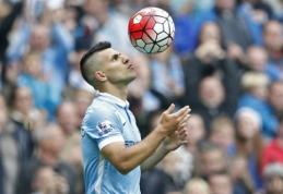 """Penki S.Aguero įvarčiai padėjo sutriuškinti """"Newcastle"""", """"Chelsea"""" krachas tęsiasi (VIDEO)"""