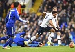 """Londono klubai iškovojo po tašką, """"Liverpool"""" kyla į šeštąją poziciją (VIDEO)"""