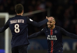 """Prancūzijoje - eilinė PSG pergalė bei """"Angers"""" kilimas į antrąją vietą (VIDEO)"""