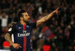 "E. Lavezzi: PSG ""Ligue 1"" čempionatui yra per stiprus"
