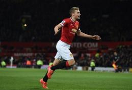 """""""Manchester United"""" išnuomavo Jamesą Wilsoną"""